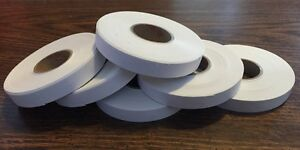 6 Pack White Rolls Monarch 1110 Deli Store Price Marking Gun Labels Stickers