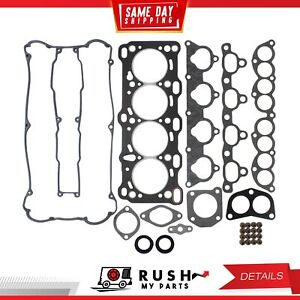 Dnj Hgs326 Graphite Head Gasket Set For 89 92 Isuzu Imark 1 6l Dohc 16v
