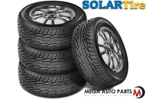 4 X New Solar 4xs 195 60 15 88h Blk Sl All Season Performance Tires By Sumitomo
