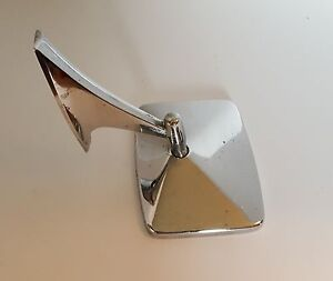 Vintage Chevy Chrome Adjustable Rear View Mirror 326594 Chevrolet Gm