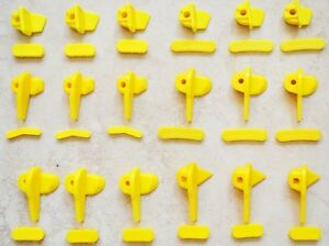 10pcs Tyre Tire Changer Part Nylon Demount Head Duck Insert Rim Protector