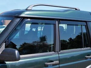Land Rover Discovery 2 1999 2004 Front Rear Wind Deflector Set 4 Pieces Da6071