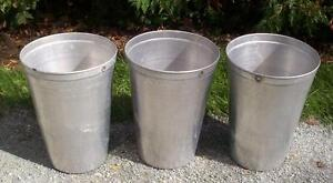 5 Great Aluminum Sap Buckets Maple Syrup Bucket 2 Gallon