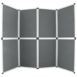 6x8 Folding 8 Panels Trade Show Display Booth Screen Backdrop Easy Setup