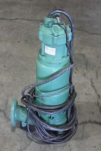 Hydromatic Submersible Pump 10hp Aurora 460v
