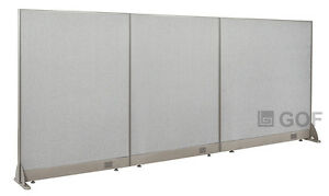 Gof Office Freestanding Partition 102 w X 48 h Office Divider