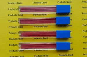 Colored Lead Red 7mm Pencil Lead 4 Tubes 48 Pieces Of 0 7mm Red Lead