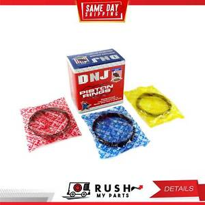 Dnj Pr302 Standard Piston Ring Set For 76 81 Chevrolet Isuzu Imark Luv 1 8l Sohc