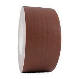 3 X 60 Yd Gaffers Brown Audio Stage Adhesive Tape Spike Tape No Residue