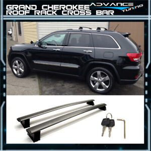 For 11 18 Jeep Grand Cherokee Oe Style Top Roof Rack Cross Bar