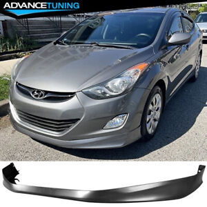 Fits 11 13 Hyundai Elantra Md 4dr Only Oe Style Polypropylene Front Bumper Lip