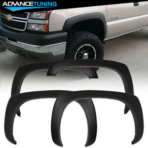 Fits 99 06 Chevy Silverado 1500 2500 3500 Oe Factory Smooth Fender Flares