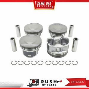 Dnj P336a 20 Oversize Compl Piston Set For 09 12 Chevrolet Pontiac 2 2l Ecotec