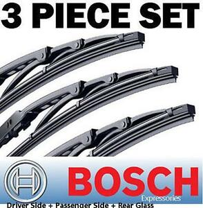 Bosch Direct Connect 22 22 16 Wiper Blades Set Of 3 Front Left right rear