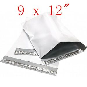 500 Pcs 9x12 Poly Mailers Shipping Envelopes Plastic Bags 2 35 Mil