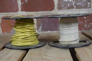 Lot Of 2 Colonial Wire Cable Co 50 Feet Each 14 Awg Stranded Copper Wire