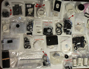 Zeiss Microscope Axioskop Axiovert Stereoskop Stemi 2000 Parts Lot 1 Many Items