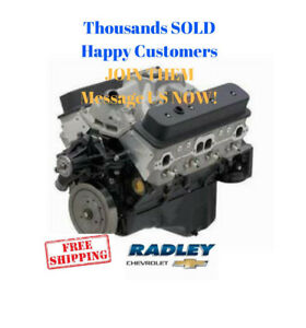 Gm Oem Chevy Chevrolet Performance 19355722 Sp383 Deluxe 383ci Engine 435 Hp