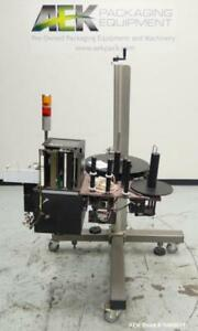 Used Superior Machine Systems sms Model Genesis Zpe Pressure Sensitive Labele