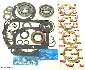 Saginaw 3 Speed Or 4 Speed Max Load Bearing Kit Bk115hdws