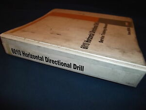 Case 6010 Horizontal Directional Drill Service Training Book Manual