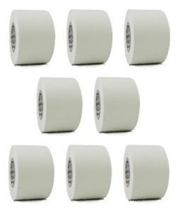 8 Rolls White Vinyl Pvc Electrical Tape 2 X 66 Flame Retardant Free Shipping