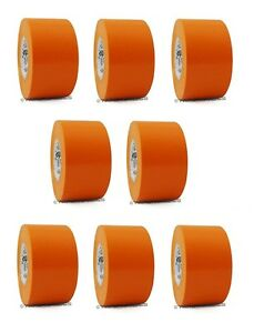 8 Rolls Orange Vinyl Pvc Electrical Tape 2 X 66 Flame Retardant Free Shipping