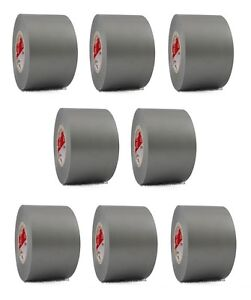 8 Rolls Gray Vinyl Pvc Electrical Tape 2 X 66 Flame Retardant Free Shipping