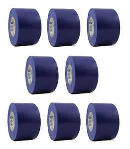 8 Rolls Blue Vinyl Pvc Electrical Tape 2 X 66 Flame Retardant Free Shipping