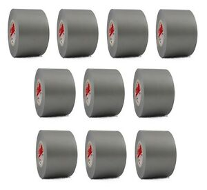 10 Rolls Gray Vinyl Pvc Electrical Tape 2 X 66 Flame Retardant Free Shipping