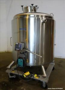 Used Mueller Reactor Model F 2000 Liter 528 Gallons 316l Stainless Steel