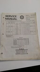 Miller Syncrowave 300 And 500 Service Manal May 1981 Form Sm 350a