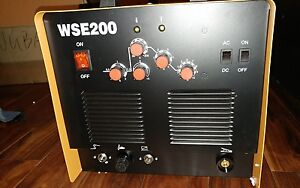 Available Now Tig Wse 200 Welder Ac dc 220v 1ph W Foot Pedal