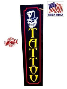 Tattoo Sign led Light Box Signs 12 x48 x1 75