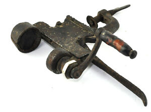 Vintage Old Hunting Cartridge Reloading Device Metal Machine