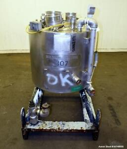 Used Eastman Kodak Reactor 30 Gallon 316l Stainless Steel Vertical Approxim