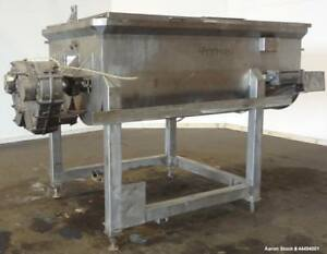 Used Fpec Food Processing Equipment Company Twin Shaft Paddle Mixer Approximat