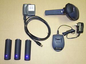 Metrologic Ms1633 Wireless Bluetooth 2d Scanner Usb Set 3 Battery inventory
