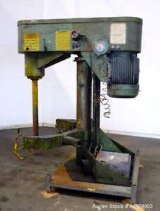 Used Schold Variable Co axial Disperser Approximately 3 1 2 Diameter X 38 Lon