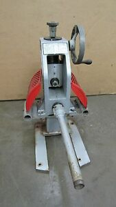 Ridgid Model 925 2 Roll Groover Pipe Grooving W 2 Drive Bar For Ridgid 300