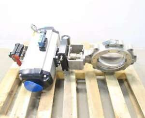 Crane 10 1da 221rt6 30j Flowseal 10 In 150 Stainless Butterfly Valve