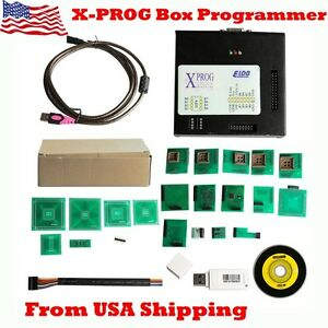 Usa Ship X prog Box Ecu Programmer V5 60 Xprog m With Usb Dongle For Bmw Cas4