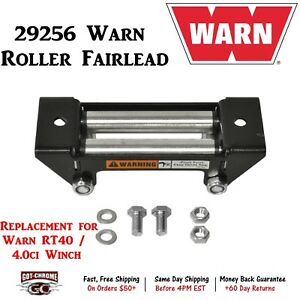 29256 Warn Roller Fairlead Roller Style Replacement For Warn Rt40 4 0ci Winch