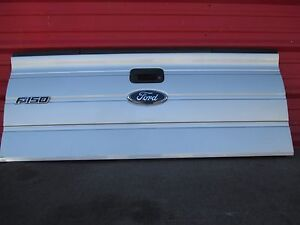 Ford F150 Pickup Tailgate Rear Gate W Step Oem Factory 2009 10 11 2012 Silver
