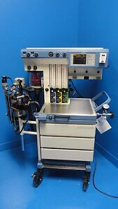 Drager Narkomed Gs Anesthesia System W Spirocell Ultrasonic Flow Meter 11759