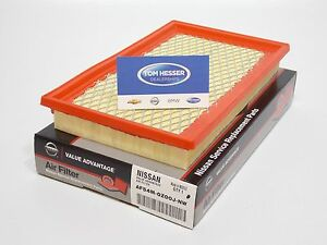 Genuine Nissan Altima Factory Air Filter Af54m 0z00jnw Value Advantage Qr25de