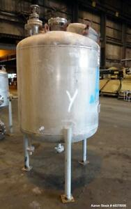 Used Chicago Boiler Company Reactor 360 Gallon 316l Stainless Steel Vertical