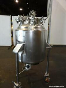 Used Mueller Reactor 300 Liter 79 Gallon 304 Stainless Steel Vertical 28