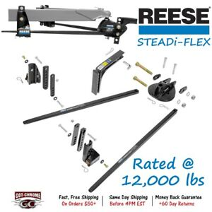 66560 Reese Steadi Flex Weight Distributing Hitch With Sway Control 12 000 Lbs