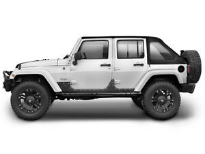 Smittybilt Xrc Armor Steel Body Cladding 2007 2017 4dr Jeep Wrangler Jk 4 Door 7